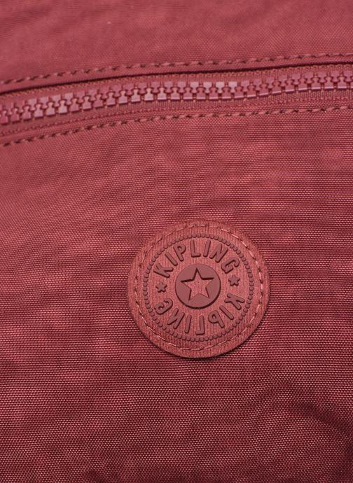 Handtaschen kipling Alvar weinrot ansicht von links