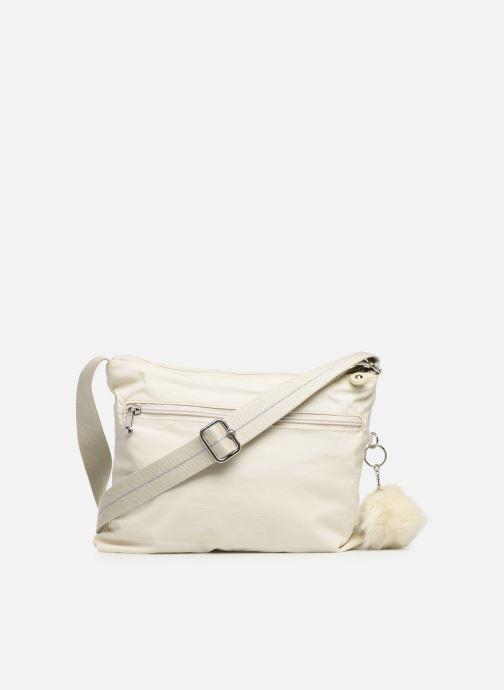 Handtaschen kipling Alvar weiß ansicht von vorne