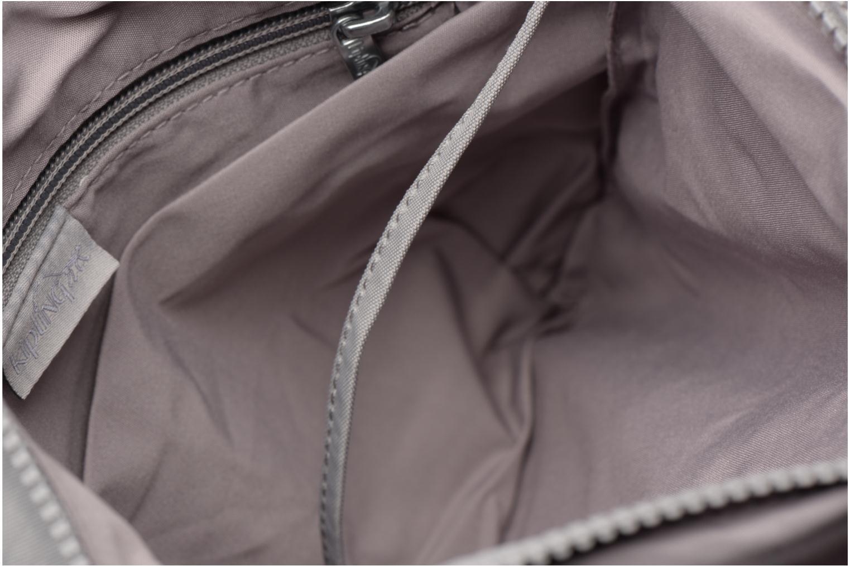 Handtassen kipling Alvar Grijs achterkant