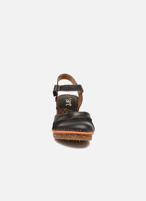 Sandales et nu-pieds Art Amsterdam 313 Noir vue portées chaussures