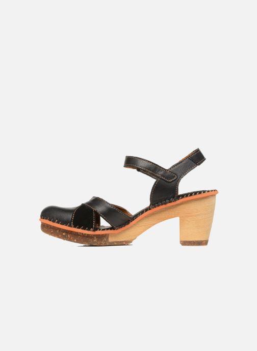 Sandales et nu-pieds Art Amsterdam 313 Noir vue face
