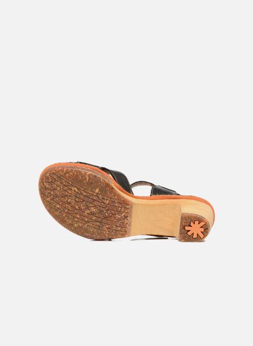 Sandales et nu-pieds Art Amsterdam 313 Noir vue haut