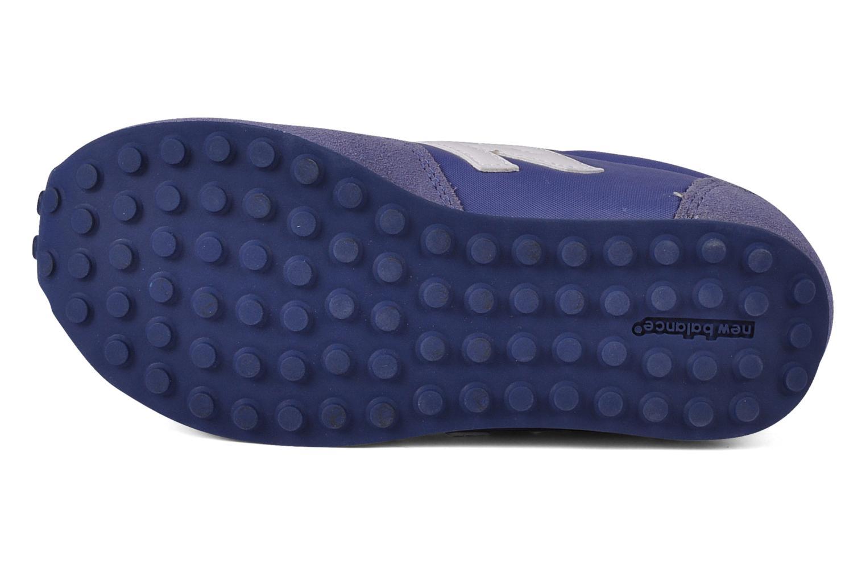 Baskets New Balance KE410 Bleu vue haut