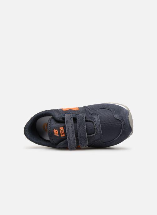 Sneakers New Balance Ke420 Blauw links