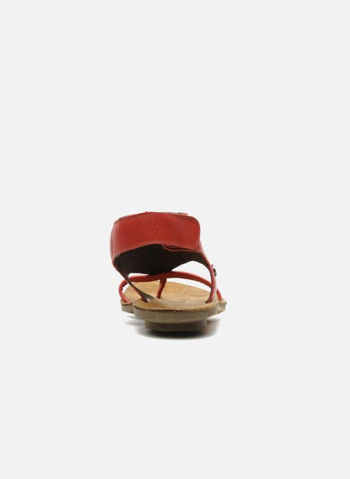 Sandals Neosens Daphni 410 Red view from the right