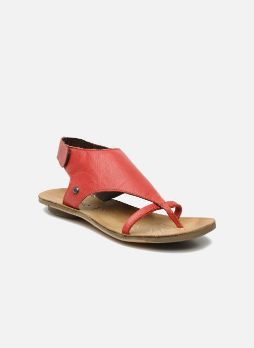 Sandals Neosens Daphni 410 Red detailed view/ Pair view