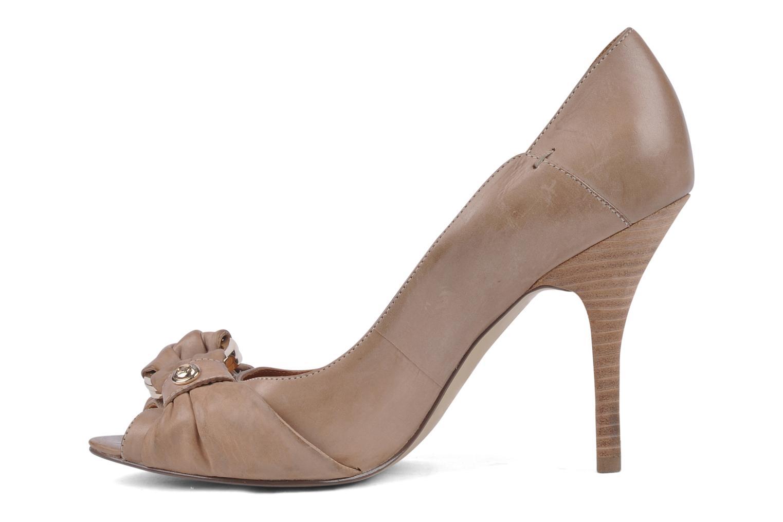 Zapatos de tacón Guess Tress Beige vista de frente