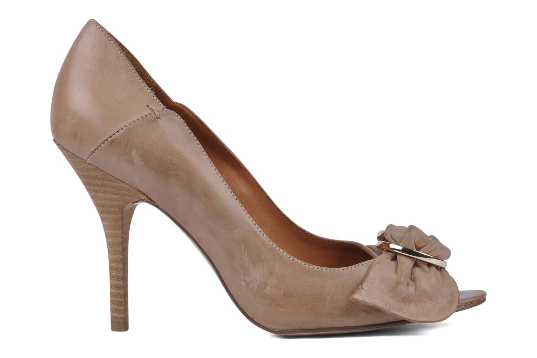 Zapatos de tacón Guess Tress Beige vistra trasera