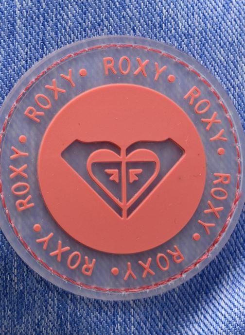 Mochilas Roxy Sugar baby Rosa vista lateral izquierda