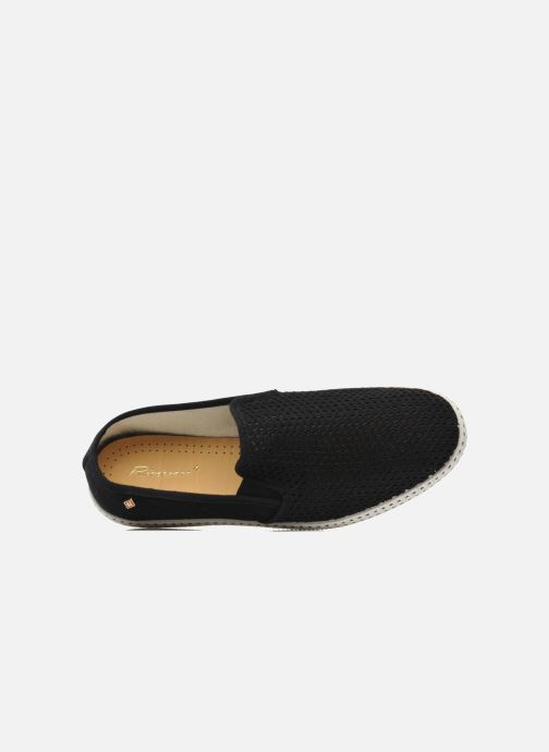 Loafers Rivieras 20°c m Black view from the left