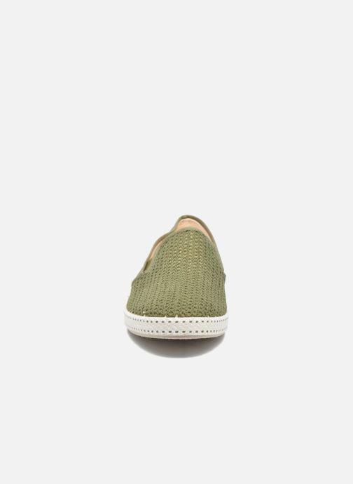 Mocassins Rivieras 20°c m Vert vue portées chaussures