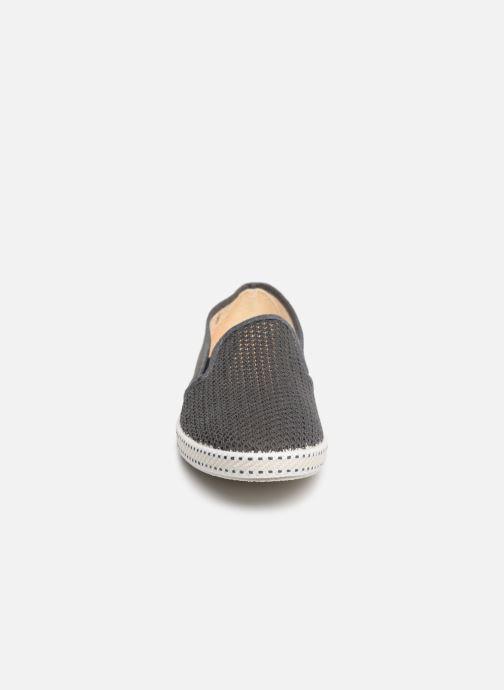 Mocassins Rivieras 20°c m Gris vue portées chaussures