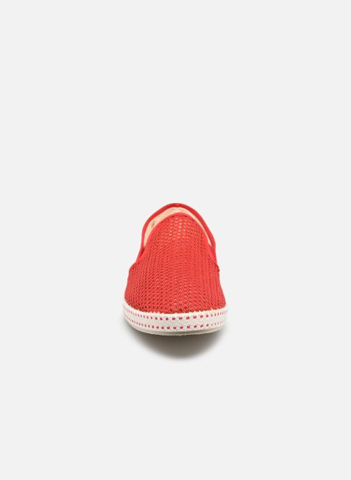 Mocassini Rivieras 20°c m Rosso modello indossato