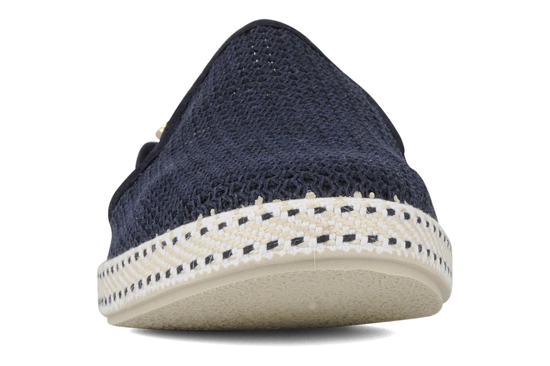 Mocassins Rivieras 20°c m Bleu vue portées chaussures
