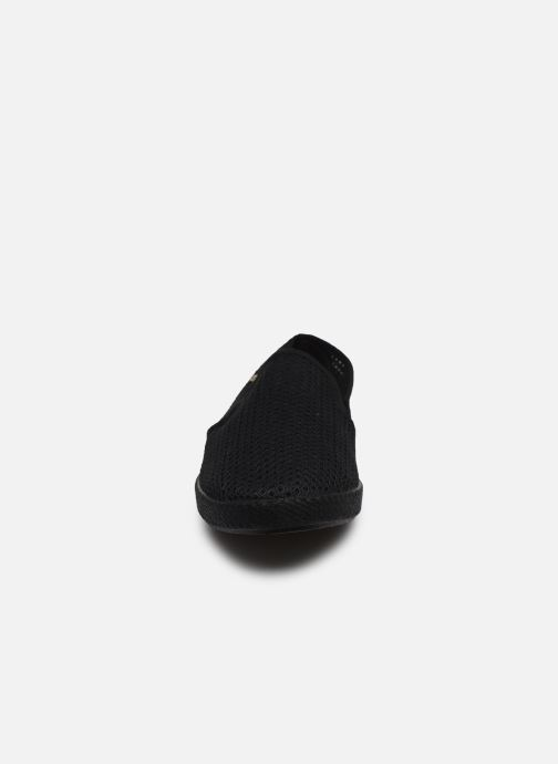 Mocassins Rivieras 30°c m Noir vue portées chaussures
