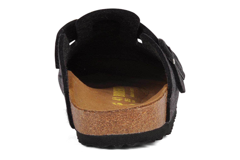 Sandali e scarpe aperte Birkenstock Boston Laine M Grigio immagine destra