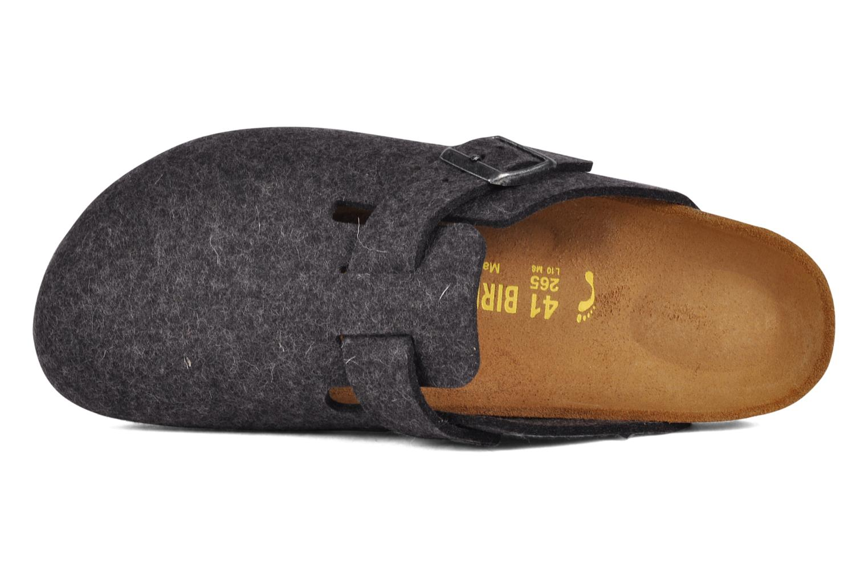 Sandali e scarpe aperte Birkenstock Boston Laine M Grigio immagine sinistra