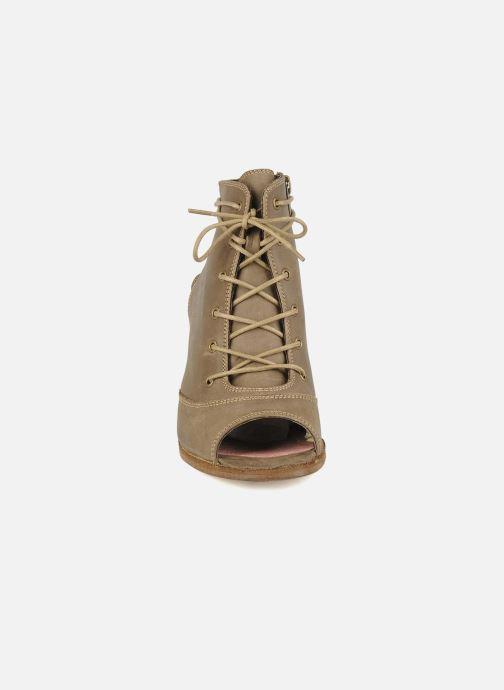 Sandales et nu-pieds H By Hudson Henshaw Beige vue portées chaussures