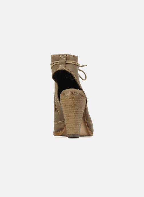Sandales et nu-pieds H By Hudson Henshaw Beige vue droite