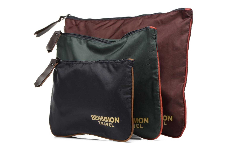 Sacs pochettes Bensimon Zipped pocket Multicolore vue portées chaussures