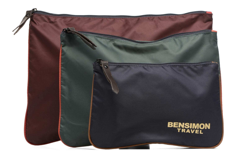Sacs pochettes Bensimon Zipped pocket Multicolore vue détail/paire