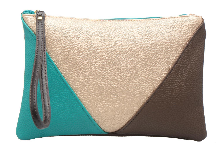 Sacs pochettes Bensimon Zipped pocket Vert vue détail/paire
