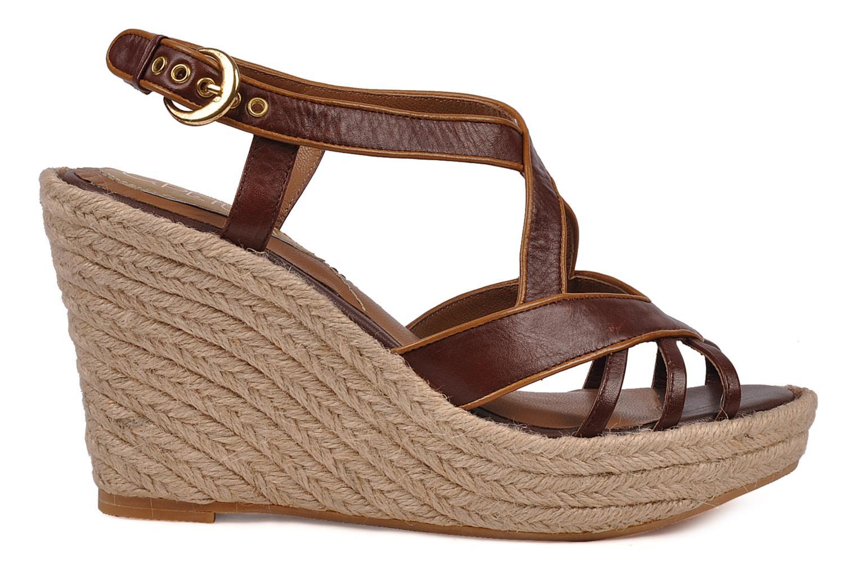 Sandales et nu-pieds C.Petula Leia Marron vue derrière