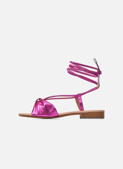 Sandals C.Petula Rizzo Pink front view