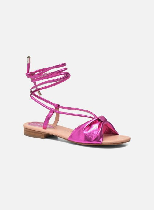 Sandals C.Petula Rizzo Pink detailed view/ Pair view