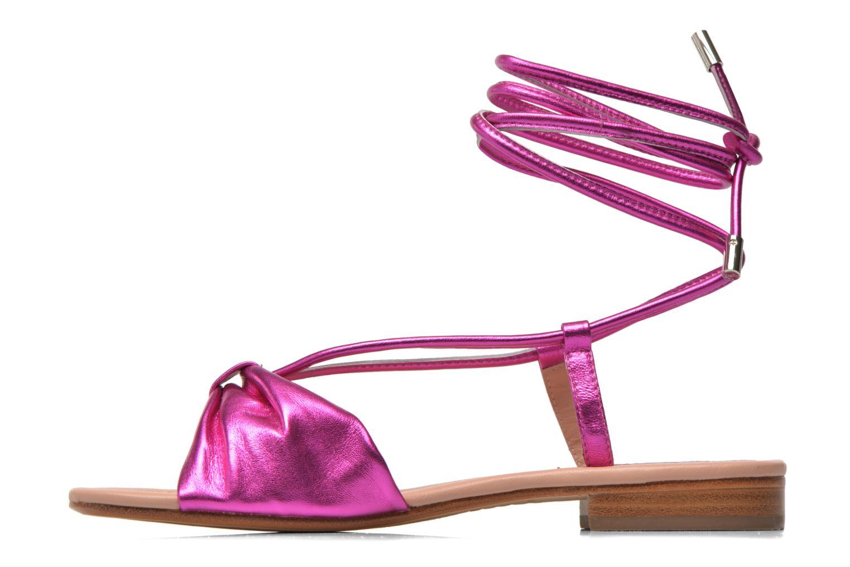 Sandales et nu-pieds C.Petula Rizzo Rose vue face