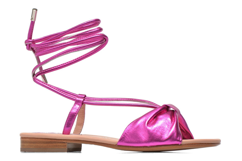 Sandales et nu-pieds C.Petula Rizzo Rose vue derrière