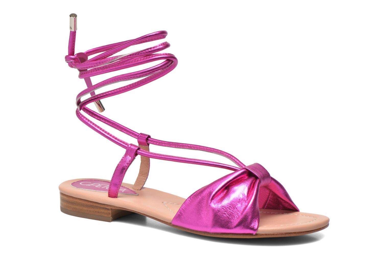 Sandales et nu-pieds C.Petula Rizzo Rose vue détail/paire