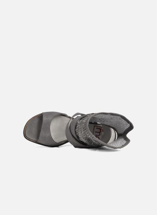 Sandales et nu-pieds UME Un matin d'été Percy Gris vue gauche