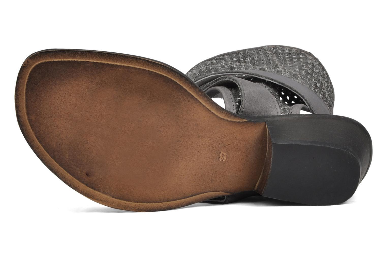 Sandales et nu-pieds UME Un matin d'été Percy Gris vue haut