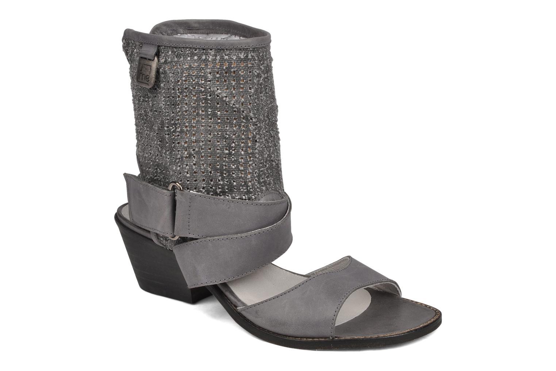 Sandales et nu-pieds UME Un matin d'été Percy Gris vue détail/paire