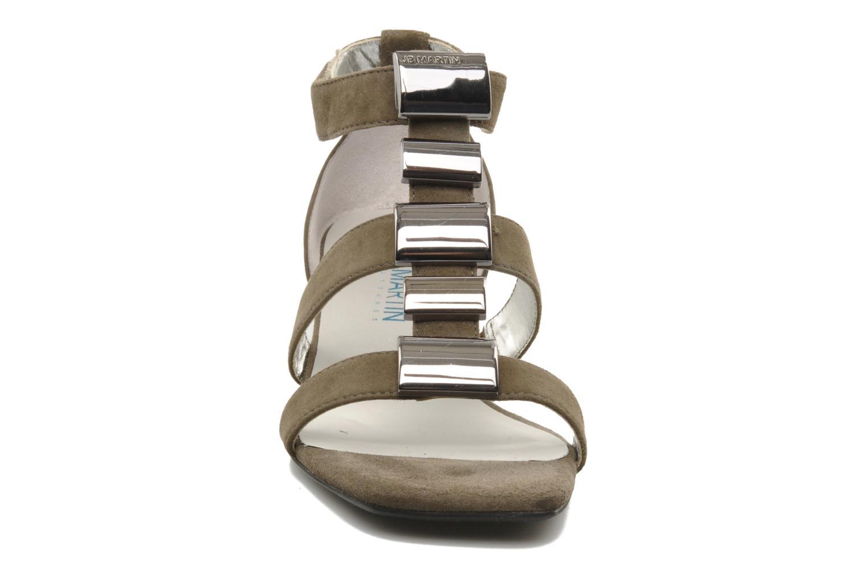 Sandales et nu-pieds JB MARTIN Iro Marron vue portées chaussures