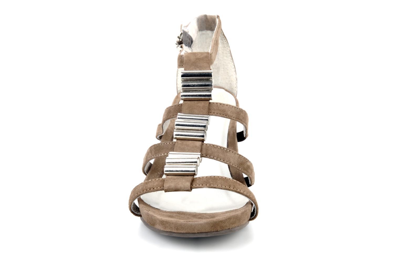 Sandales et nu-pieds JB MARTIN Byzance Marron vue portées chaussures