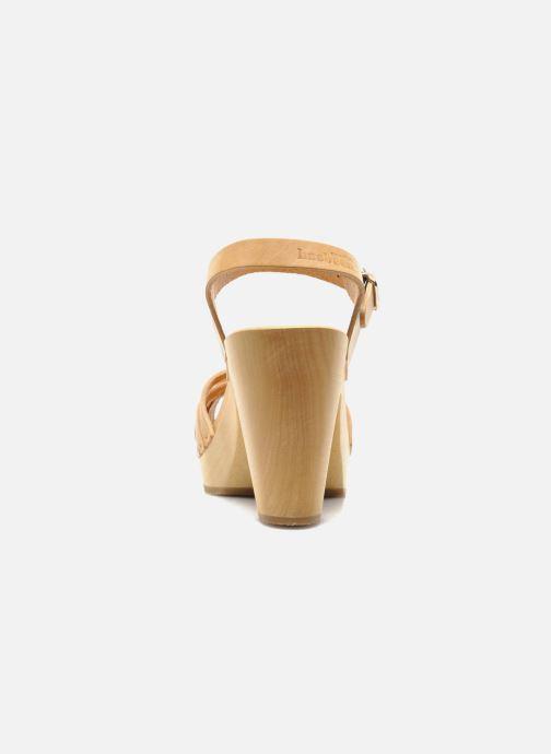 Sandali e scarpe aperte Swedish Hasbeens Braided sky high Beige immagine destra