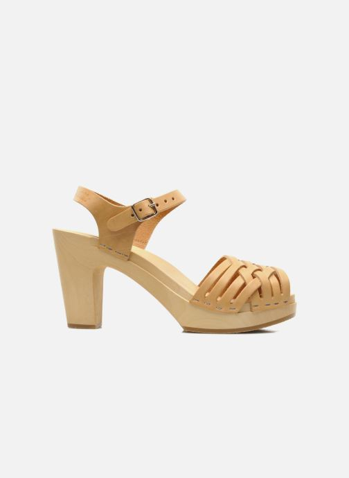 Sandali e scarpe aperte Swedish Hasbeens Braided sky high Beige immagine posteriore
