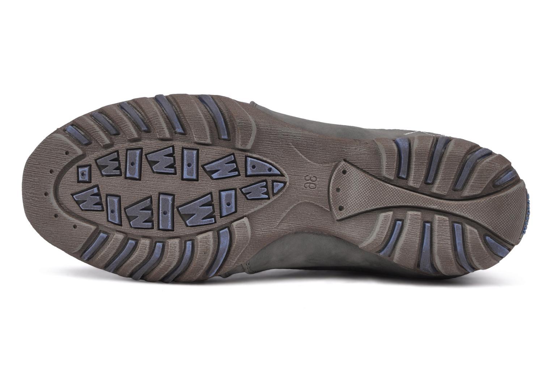 Baskets Mustang shoes Laggi Gris vue haut