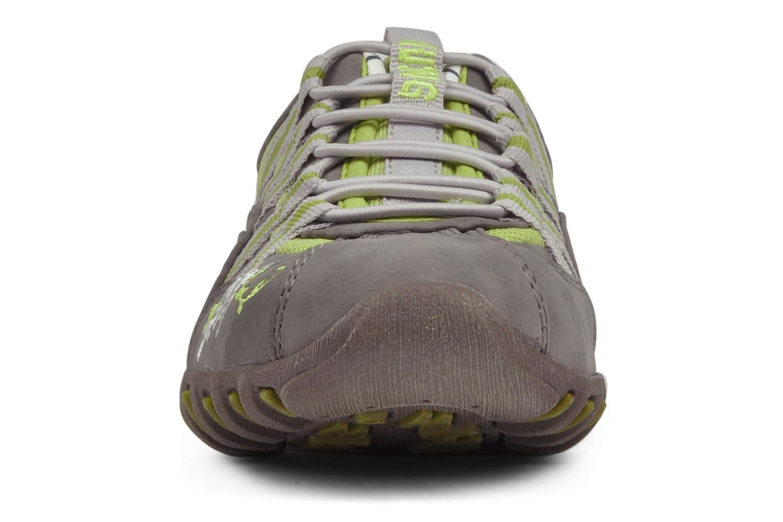 Baskets Mustang shoes Laggi Gris vue portées chaussures