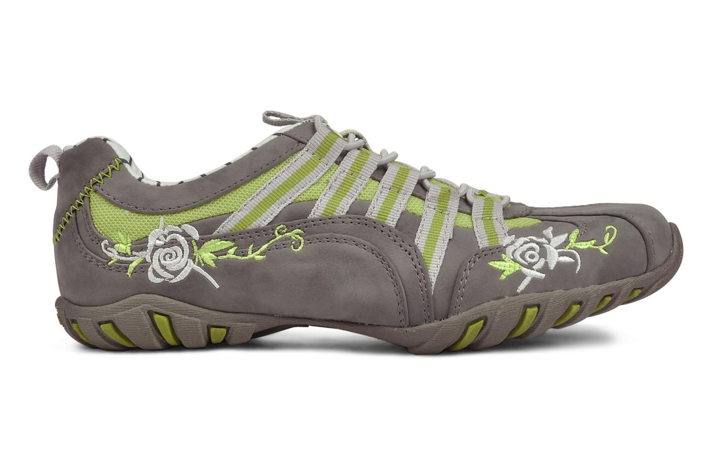 Baskets Mustang shoes Laggi Gris vue derrière
