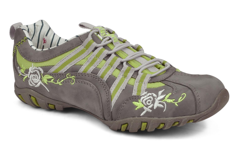 Baskets Mustang shoes Laggi Gris vue détail/paire