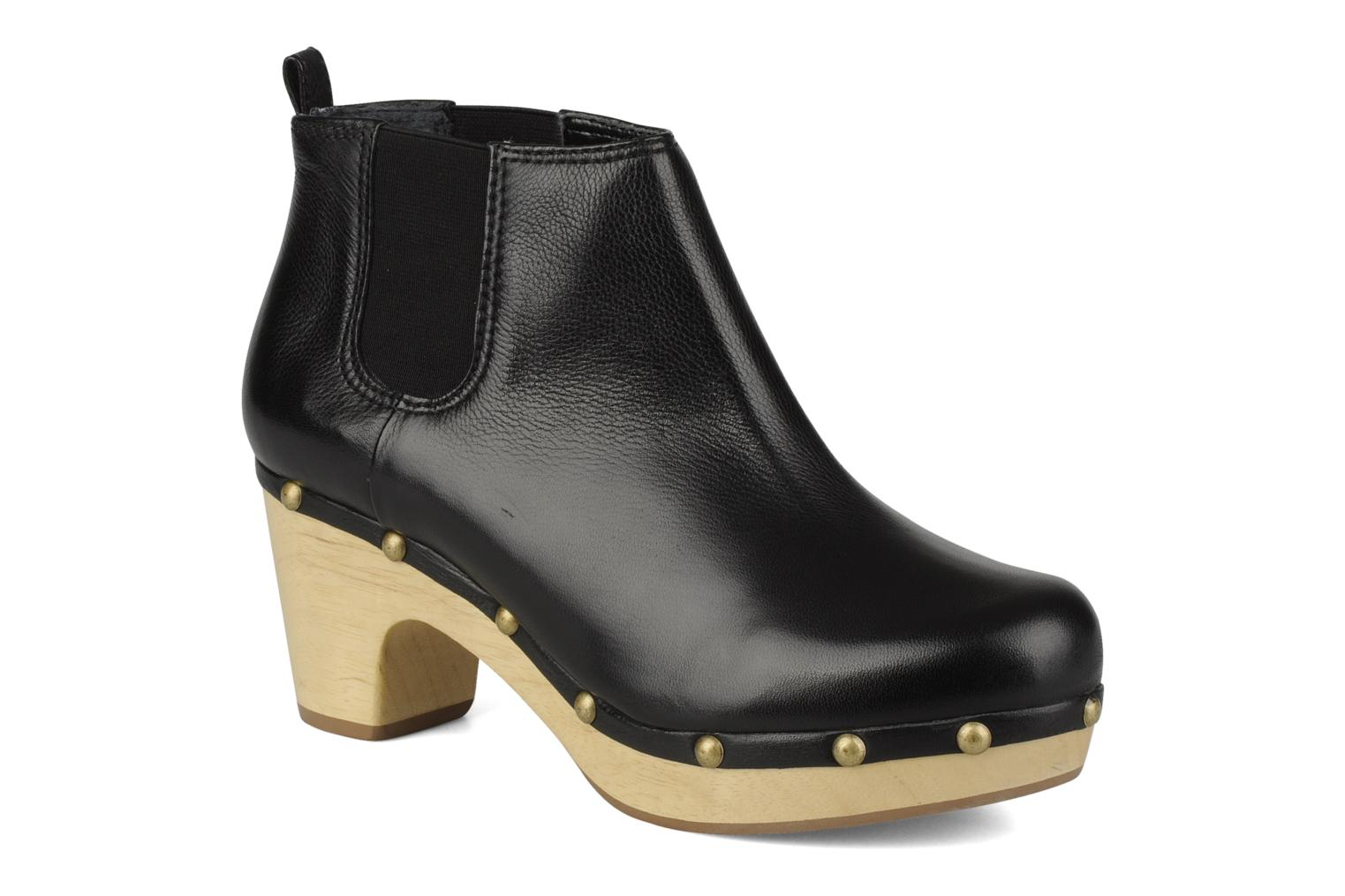 Ankle boots Studio TMLS Caius boot Black detailed view/ Pair view