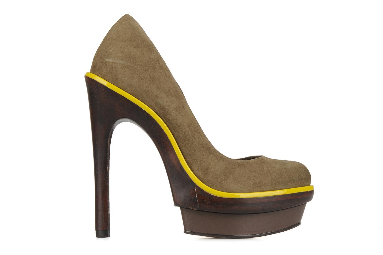 Zapatos de tacón Carvela Alpha Verde vistra trasera