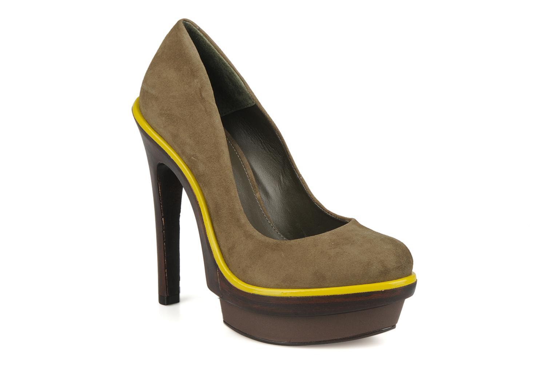 Zapatos de tacón Carvela Alpha Verde vista de detalle / par