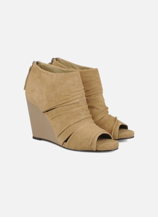 Bottines et boots Carvela Asterix Beige vue 3/4
