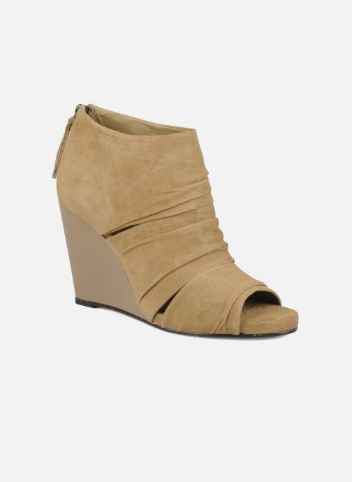 Bottines et boots Carvela Asterix Beige vue détail/paire
