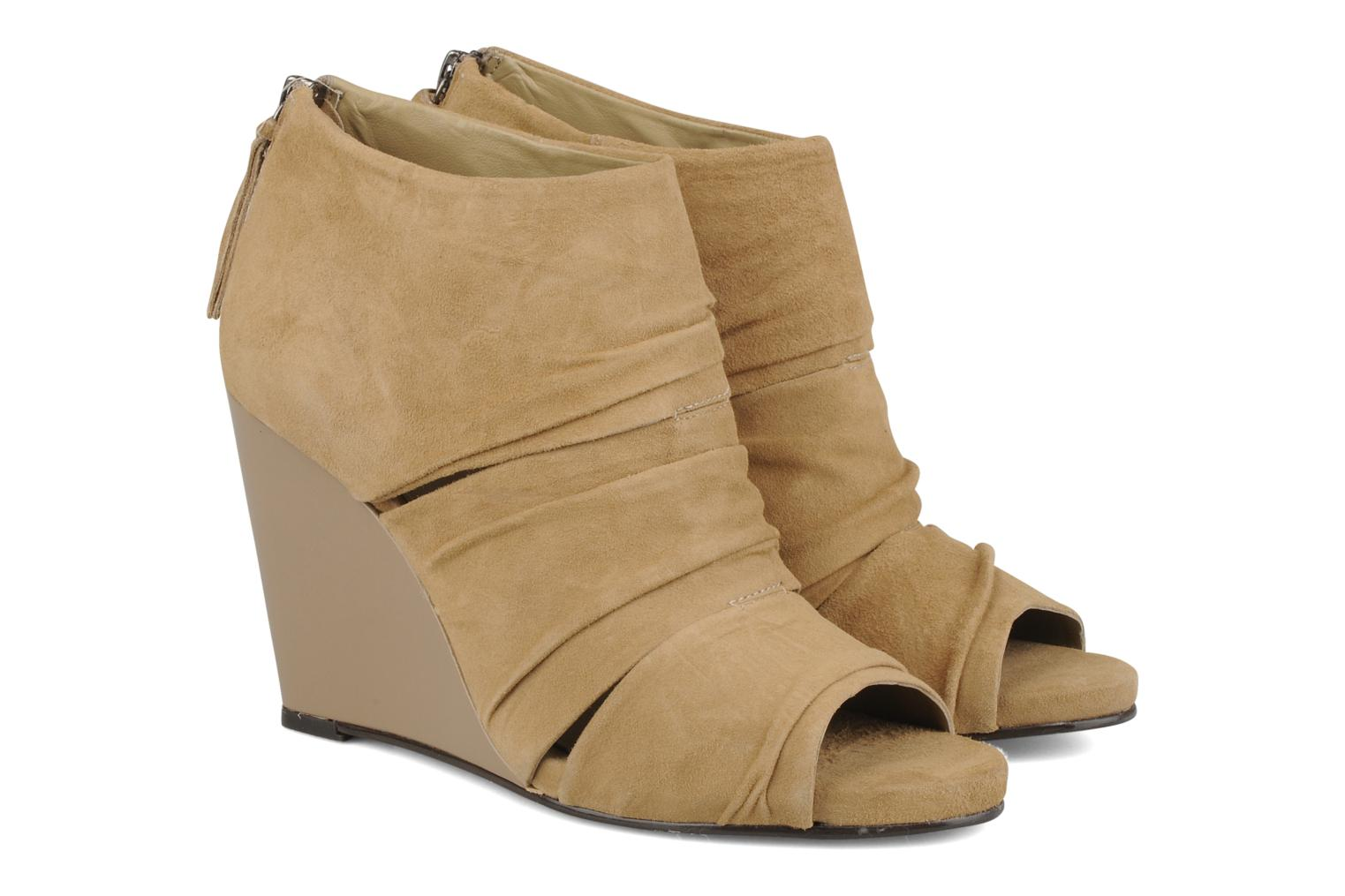 Ankle boots Carvela Asterix Beige 3/4 view
