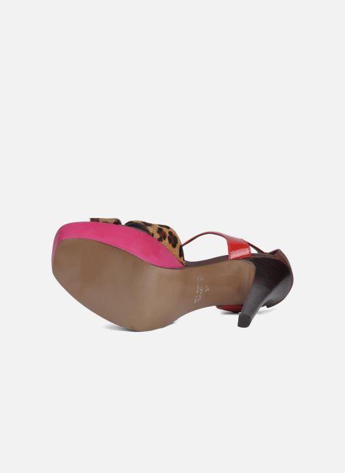 Sandales et nu-pieds Carvela Gallant Multicolore vue haut